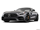 2019 Mercedes-Benz AMG GT S, front angle view, low wide perspective.