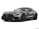 2019 Mercedes-Benz AMG GT S, front angle medium view.