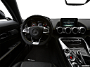 2019 Mercedes-Benz AMG GT S, steering wheel/center console.