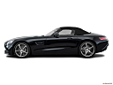 2019 Mercedes-Benz AMG GT, drivers side profile, convertible top up (convertibles only).