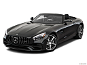 2019 Mercedes-Benz AMG GT, front angle view.