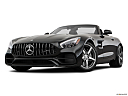 2019 Mercedes-Benz AMG GT, front angle view, low wide perspective.