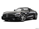 2019 Mercedes-Benz AMG GT, front angle medium view.