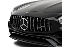 2019 Mercedes-Benz AMG GT, close up of grill.