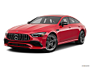 2019 Mercedes-Benz AMG GT AMG GT 53, front angle medium view.