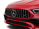 2019 Mercedes-Benz AMG GT AMG GT 53, close up of grill.