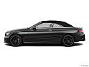 2019 Mercedes-Benz C-Class AMG C 43, drivers side profile, convertible top up (convertibles only).