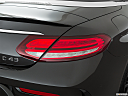 2019 Mercedes-Benz C-Class AMG C 43, passenger side taillight.