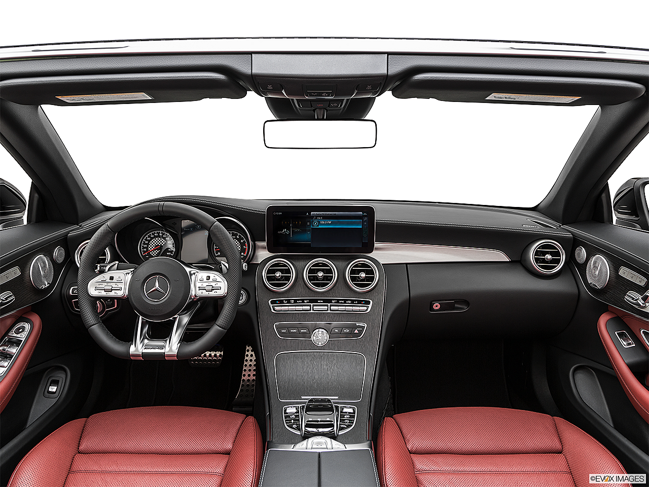 2019 Mercedes-Benz C-Class AMG C 43, centered wide dash shot
