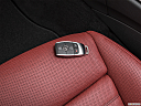 2019 Mercedes-Benz C-Class AMG C 43, key fob on driver's seat.