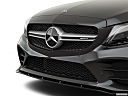 2019 Mercedes-Benz C-Class AMG C 43, close up of grill.