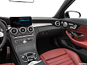 2019 Mercedes-Benz C-Class AMG C 43, center console/passenger side.
