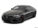 2019 Mercedes-Benz C-Class AMG C63 S, front angle view.