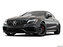 2019 Mercedes-Benz C-Class AMG C63 S, front angle view, low wide perspective.