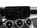 2019 Mercedes-Benz C-Class AMG C63 S, driver position view of navigation system.