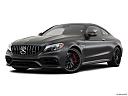2019 Mercedes-Benz C-Class AMG C63 S, front angle medium view.