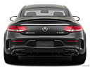 2019 Mercedes-Benz C-Class AMG C63 S, low/wide rear.