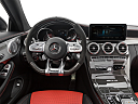 2019 Mercedes-Benz C-Class AMG C63 S, steering wheel/center console.