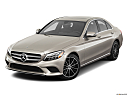 2019 Mercedes-Benz C-Class C300, front angle view.