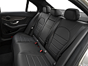 2019 Mercedes-Benz C-Class C300, rear seats from drivers side.