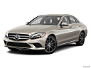 2019 Mercedes-Benz C-Class C300, front angle medium view.