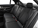 2019 Mercedes-Benz E-Class E450 4MATIC, rear seats from drivers side.