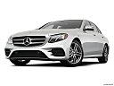2019 Mercedes-Benz E-Class E450 4MATIC, front angle view, low wide perspective.