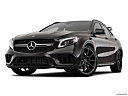 2019 Mercedes-Benz GLA-Class AMG GLA 45, front angle view, low wide perspective.