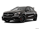 2019 Mercedes-Benz GLA-Class AMG GLA 45, front angle medium view.