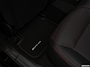 2019 Mercedes-Benz GLA-Class AMG GLA 45, rear driver's side floor mat. mid-seat level from outside looking in.