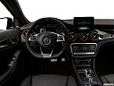 2019 Mercedes-Benz GLA-Class AMG GLA 45, steering wheel/center console.