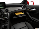 2019 Mercedes-Benz GLA-Class GLA250, glove box open.