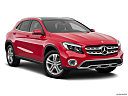 2019 Mercedes-Benz GLA-Class GLA250, front passenger 3/4 w/ wheels turned.