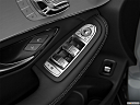 2019 Mercedes-Benz GLC-Class AMG GLC 63, driver's side inside window controls.