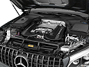 2019 Mercedes-Benz GLC-Class AMG GLC 63, engine.