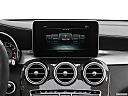 2019 Mercedes-Benz GLC-Class AMG GLC 63, closeup of radio head unit