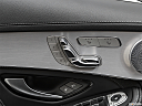 2019 Mercedes-Benz GLC-Class AMG GLC 63, seat adjustment controllers.