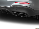 2019 Mercedes-Benz GLC-Class AMG GLC 63, chrome tip exhaust pipe.