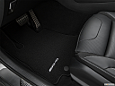2019 Mercedes-Benz GLC-Class AMG GLC 63, driver's floor mat and pedals. mid-seat level from outside looking in.