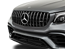 2019 Mercedes-Benz GLC-Class AMG GLC 63, close up of grill.