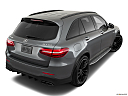 2019 Mercedes-Benz GLC-Class AMG GLC 63, rear 3/4 angle view.