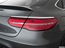 2019 Mercedes-Benz GLC-Class AMG GLC 63, passenger side taillight.