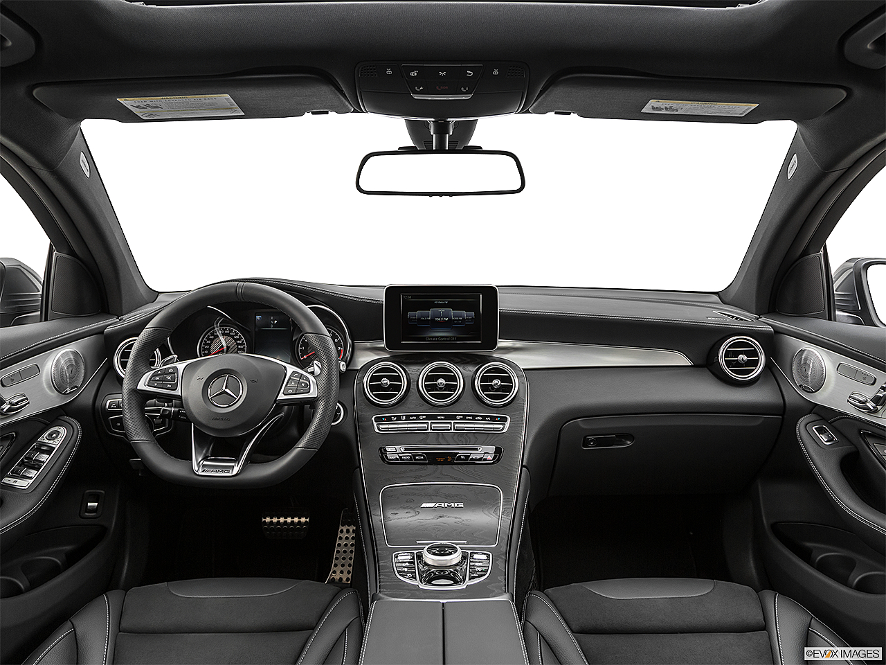 2019 Mercedes-Benz GLC-Class AMG GLC 63, centered wide dash shot