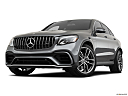2019 Mercedes-Benz GLC-Class AMG GLC 63, front angle view, low wide perspective.