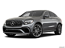 2019 Mercedes-Benz GLC-Class AMG GLC 63, front angle medium view.