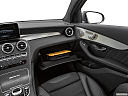 2019 Mercedes-Benz GLC-Class AMG GLC 63, glove box open.