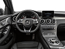 2019 Mercedes-Benz GLC-Class AMG GLC 63, steering wheel/center console.