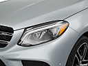 2019 Mercedes-Benz GLE-Class AMG GLE 43, drivers side headlight.