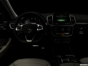 "2019 Mercedes-Benz GLE-Class AMG GLE 43, centered wide dash shot - ""night"" shot."