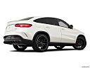 2019 Mercedes-Benz GLE-Class Coupe AMG GLE 63 S, low/wide rear 5/8.